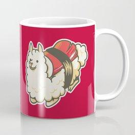 Alpaca Sushi Niguiri III Coffee Mug