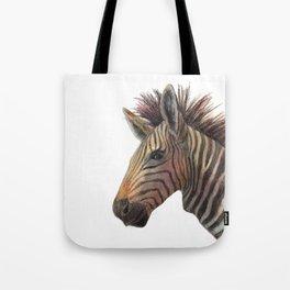 Zebra Drawing Tote Bag