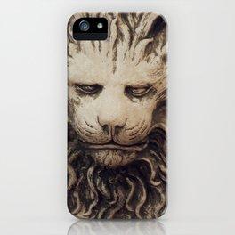Big Lion iPhone Case