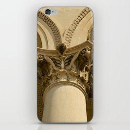 SEPIA COLUMN iPhone Skin