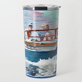 Wooden Boat Blues Travel Mug