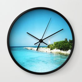Tropical Bliss Wall Clock