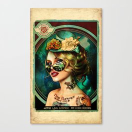 THE NEW BURLESQUE - 2 Canvas Print