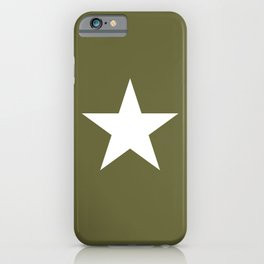 Army Star iPhone Case