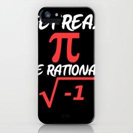 Mathematics Pi Root iPhone Case
