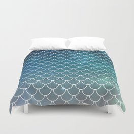 Galactic Scales Duvet Cover