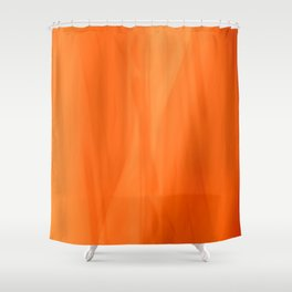 Color Serie 1 orange Shower Curtain
