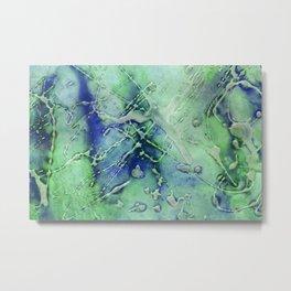 green ink 1 Metal Print