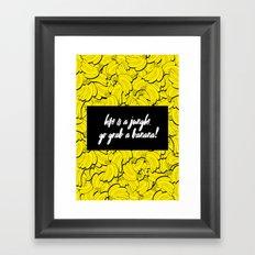 TOTALLY BANANAS Framed Art Print