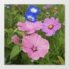 flower garden IV Canvas Print