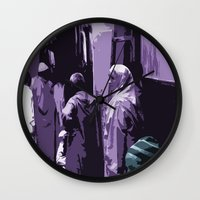arab Wall Clocks featuring Arab World by Sergio Silva Santos