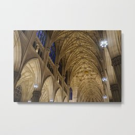 Cathedral Ceiling-pt.2 Metal Print