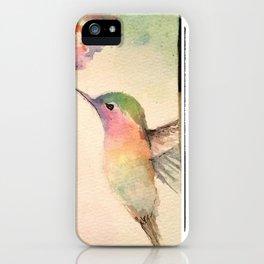 hummingbirds #4 iPhone Case