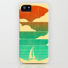 Go West (sail away in my boat) Slim Case iPhone (5, 5s)