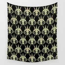 Baphomet Damask Wall Tapestry