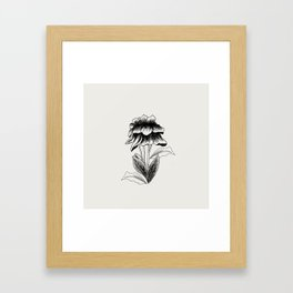 Flower #1 Framed Art Print