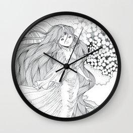 The artist Wall Clock