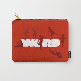 Word Play Carry-All Pouch