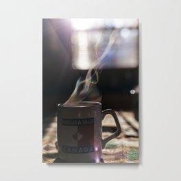 Morning Tea Metal Print