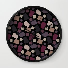 Abstract Marker in calm Wall Clock