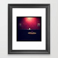 Pool Side Framed Art Print