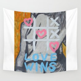 Nothing beats love...!!! Wall Tapestry