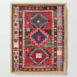 Kazak Southwest Caucasus Rug Print Serving Tray