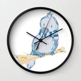 Row Wall Clock