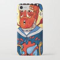 sailor iPhone & iPod Cases featuring Sailor by Ricardo Cavolo