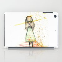 sister iPad Cases featuring Sister by solocosmo