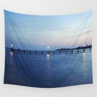 florida Wall Tapestries featuring Florida Sunset by Kameron Elisabeth