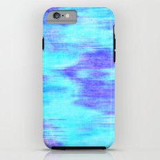 Ocean Blur - Abstract in Mint, Purple, & Royal Blue iPhone 6 Tough Case