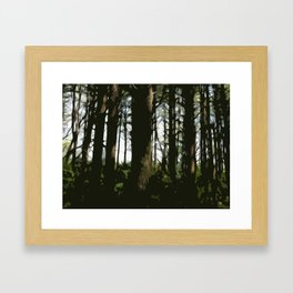 ...for the Trees Framed Art Print