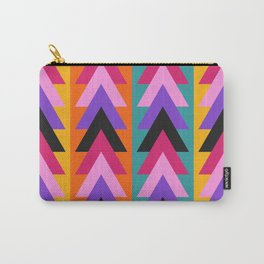 Multicolored arrows and bright stripes Carry-All Pouch