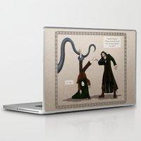 aragorn Laptop & iPad Skins featuring Thankless Job by wolfanita