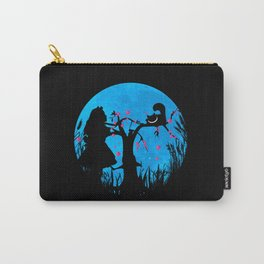 Alice In Wonderland Blue Moon Carry-All Pouch