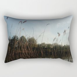 Nature and landscape 5 reed Rectangular Pillow