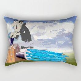 Another Smurf Rectangular Pillow