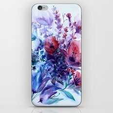 Wildflowers iPhone & iPod Skin