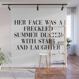 freckled summer Wall Mural