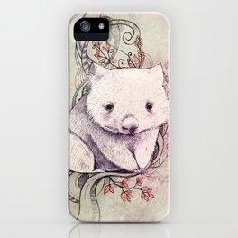 Wombat! iPhone Case