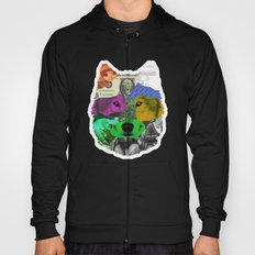 wolf collage Hoody