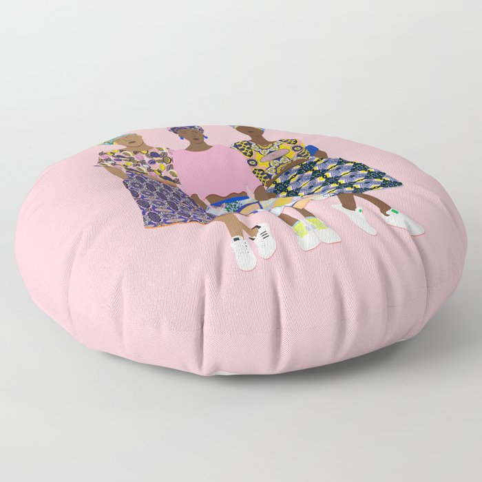 GIRLZ BAND Floor Pillow