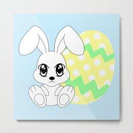 The Easter bunny Metal Print