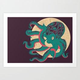OctoPhant Art Print