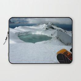 New Zealand, Mt Ruapehu Laptop Sleeve