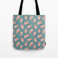 Pattern Project #52 / Piglets Tote Bag