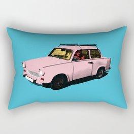 Trabant pink pop Rectangular Pillow