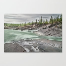 Whirlpool Canyon, YT Canvas Print