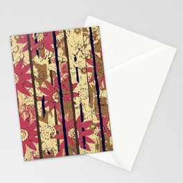 Busy Chrysanthemums in Motion By Danae Anastasiou  Stationery Cards